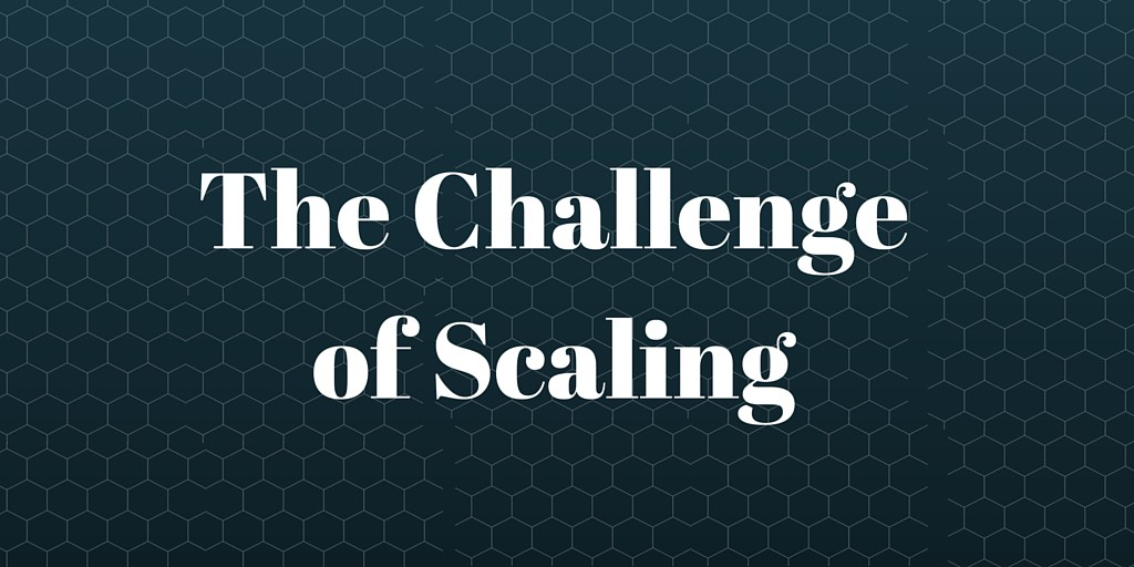 challenge of scale